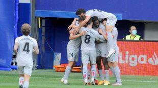 El Athletic estrenó en Ipurua su cuenta de puntos de la temporada.