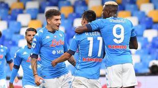 El Chucky marcó su primer gol en la presente temporada de la Serie A...