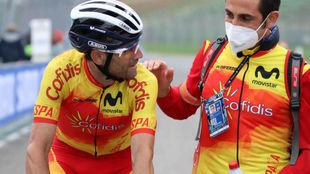 Alejandro Valverde, este domingo