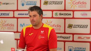 Pascual Momparler, seleccionador nacional.