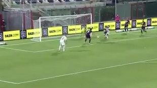 Ya hace lo que le pide el Madrid: primer gol de Brahim con el Milan
