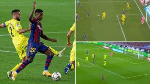 El show de Ansu Fati ante el Villarreal que le convierte en estrella de este Barça