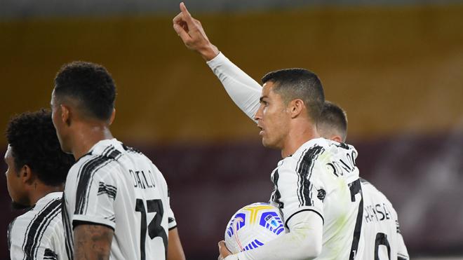 Juventus perdía, Cristiano saltó con todo y empató