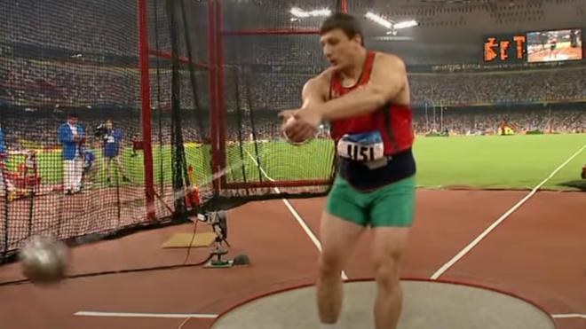 Ivan Tsikhan, en los Juegos Olímpicos de Pekín.