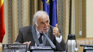 El director de la DGT, Pere Navarro, comparece ante la Comisión de...
