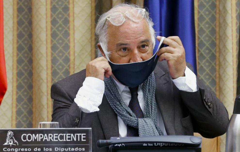 Pere Navarro, en la Comisión de Seguridad Vial del Congreso.