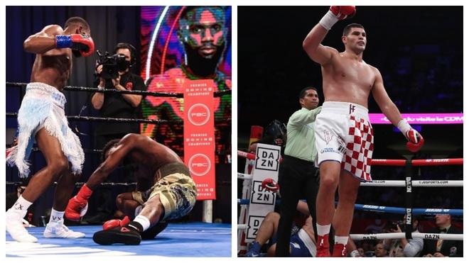 ¡Impactante! Hrgovic y Ennis opositan a mejor KO del año con estas salvajadas