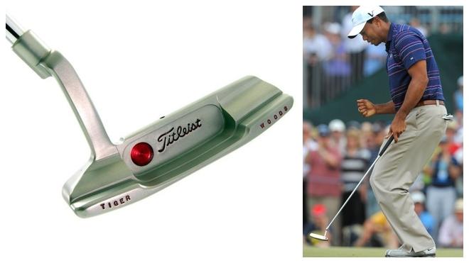 El Scotty Cameron de Tiger Woods.