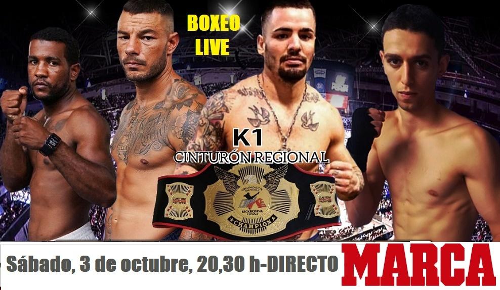 Vuelve el boxeo y el K1 en directo a Marca.com