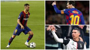 Pjanic se une al club de los que jugaron con Messi y Cristiano: ya son 14 los miembros