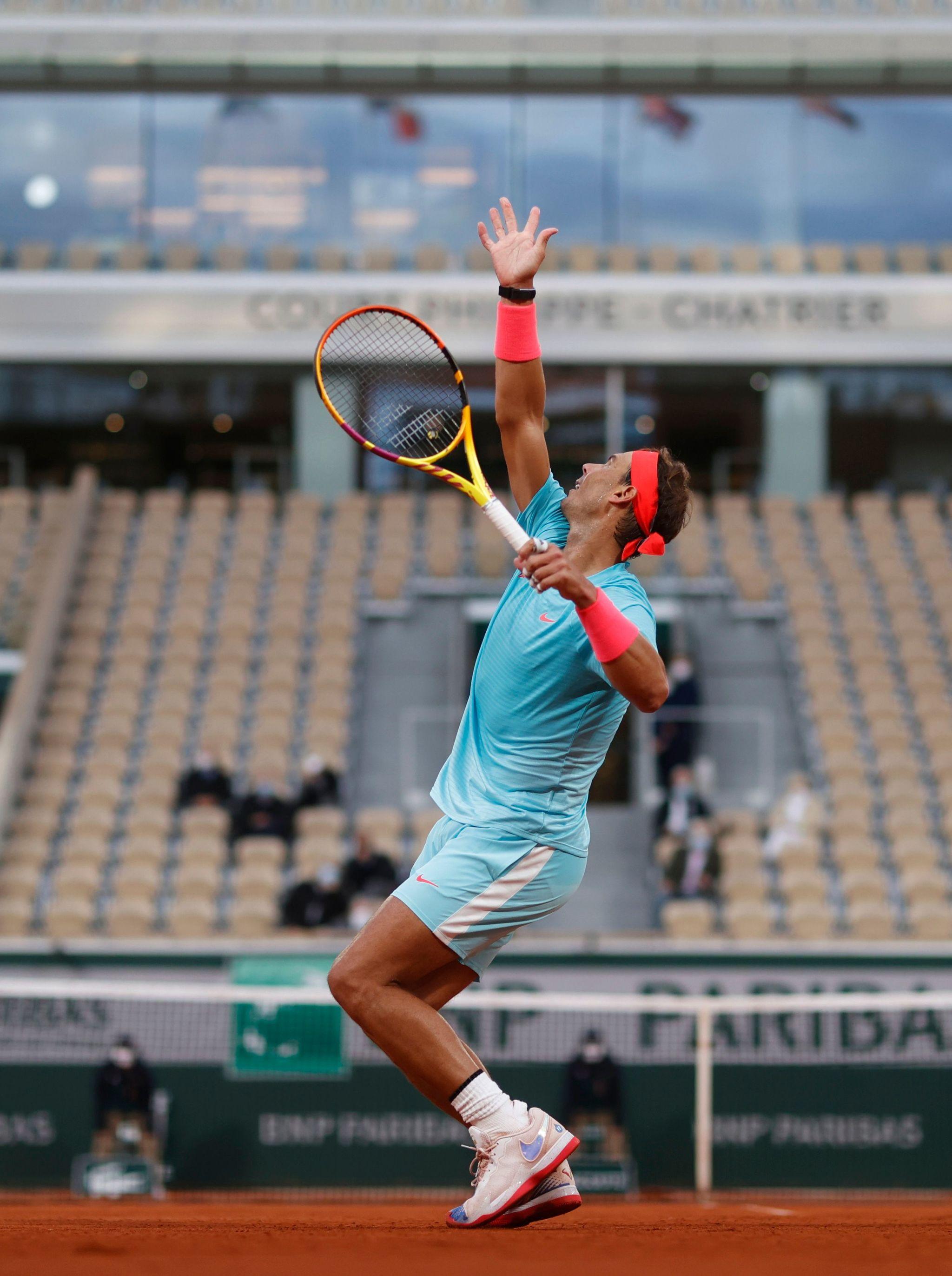 Rafa Nadal no falla en su debut en Roland Garros