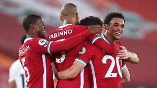 Liverpool 3-1 Arsenal, Premier League jornada 3