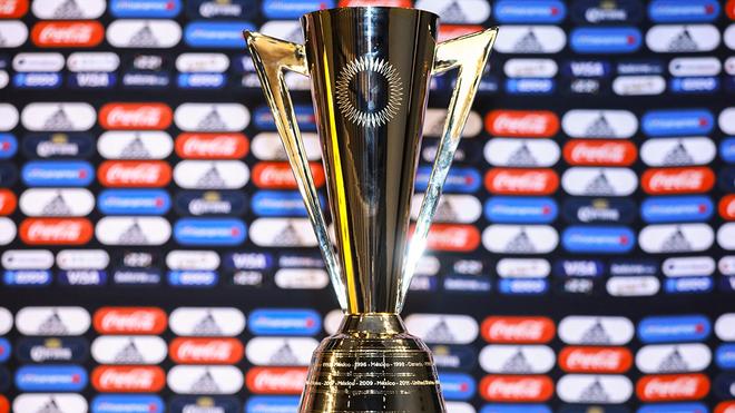 El trofeo de la Copa Oro 2021