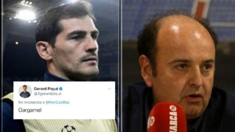 """""""Es significativo que salga Piqué a defender a Casillas y no otras leyendas del Real Madrid..."""""""