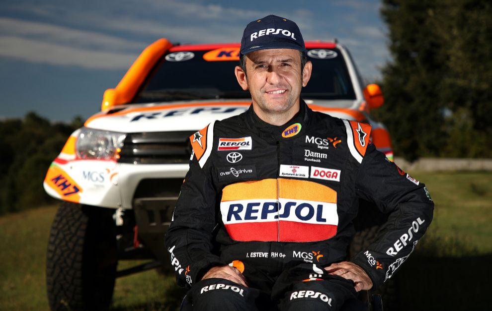 Isidre Esteve ficha por Toyota para el Dakar 2021.