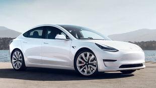 El Tesla Model 3 es el modelo más económico de Tesla.