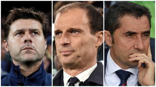 Pochettino, Allegri et Valverde entraînent sans équipe
