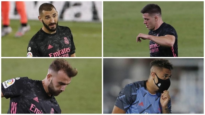 Real Madrid have too many No.9s, but all four could stay