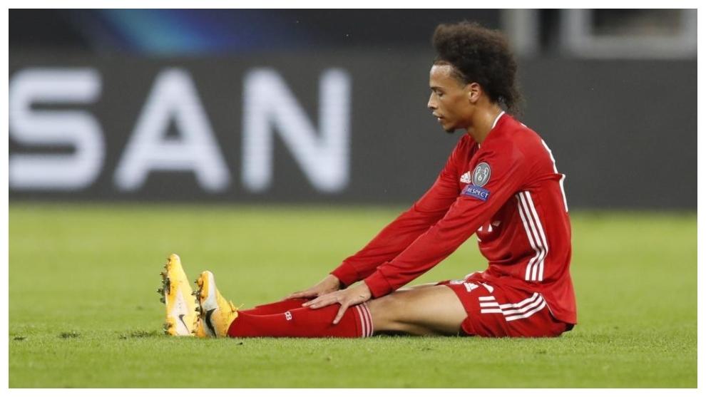 Leroy Sane se lesiona con el Bayern de Munich