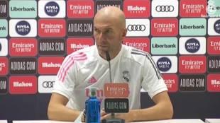 "Zidane: ""Hazard ha tenido un problema gordo"""
