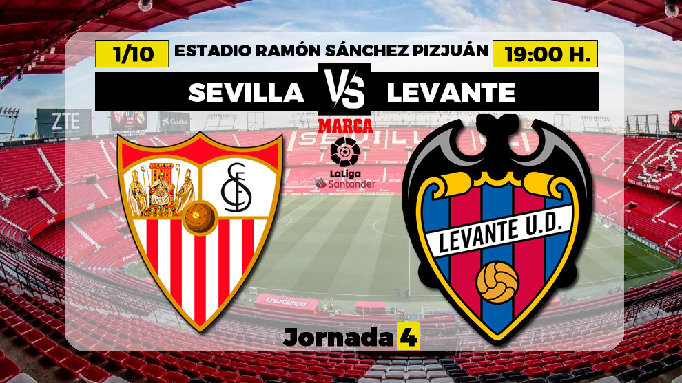 Sevilla - Levante, en directo