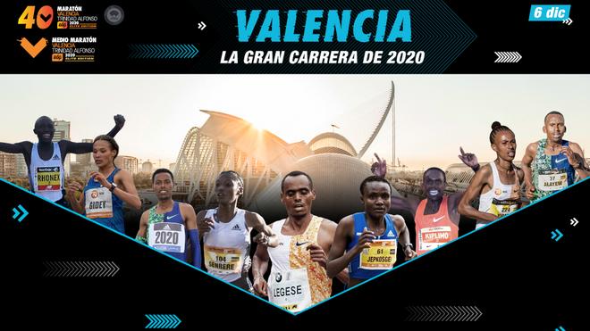Maratón Valencia anuncia un cartel de lujo en busca de los récords del mundo