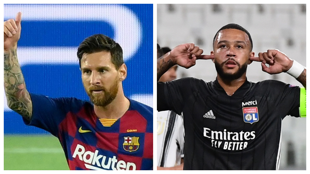 Tuesday's transfer round-up: Atletico dream of Messi, Lyon to accept lower Depay fee