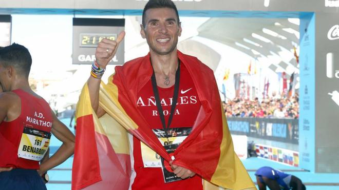 Camilo Santiago tras lograr la mínima mundialista en el medio...