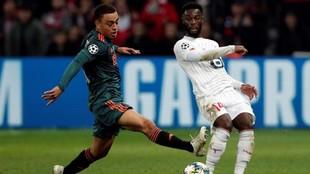 Dest, contra el Lille.
