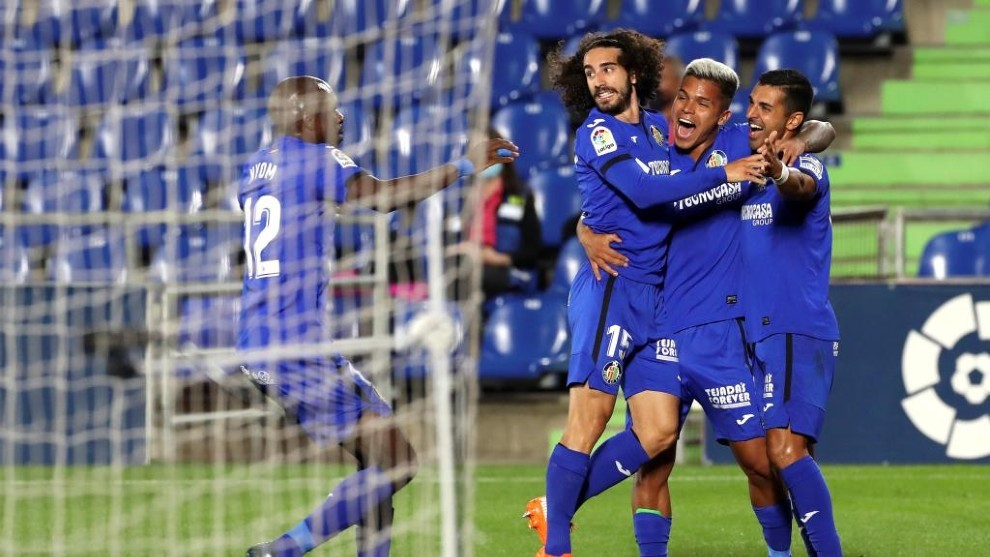 Ruthless Getafe power past Real Betis