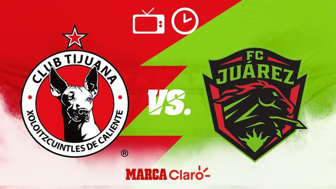Tijuana vs FC Juárez: Horario y dónde ver.