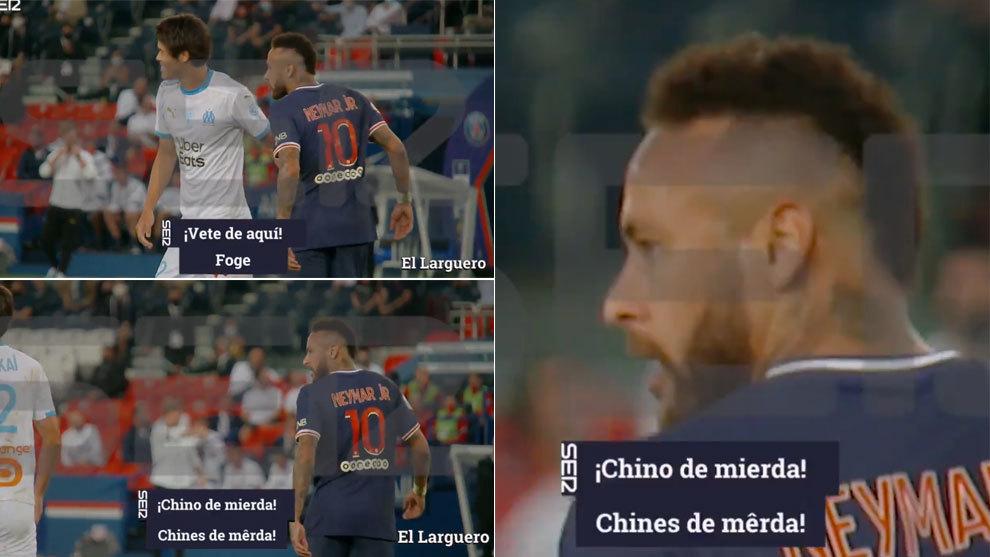 """El Larguero: El vídeo que demostraría que Neymar llamó """"chino de mierda"""" a Sakai"""