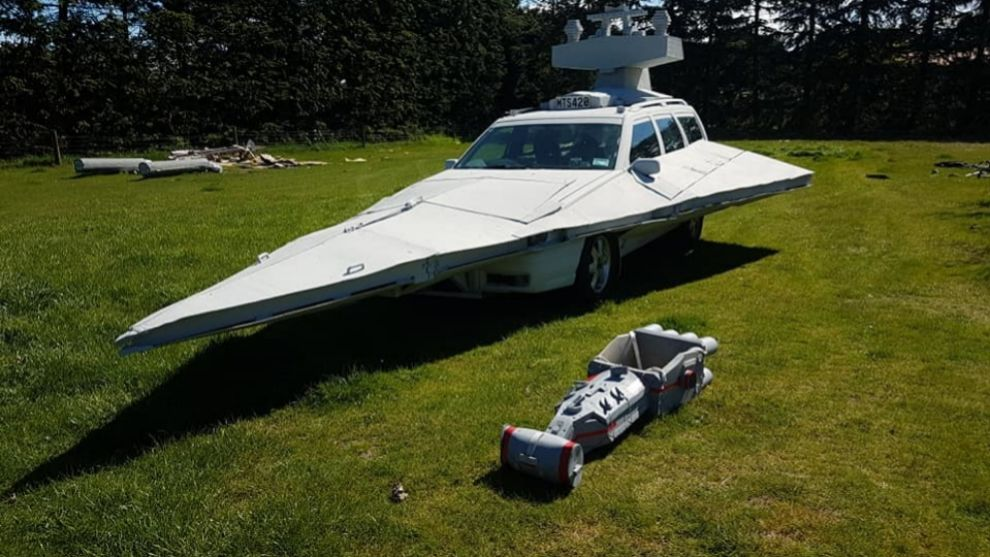 Debajo de este 'destructor imperial' de Star Wars hay... un Volvo V70
