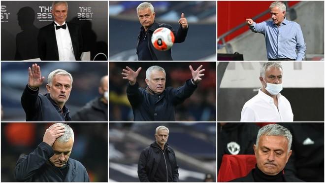 Las mil caras del indomable Mourinho