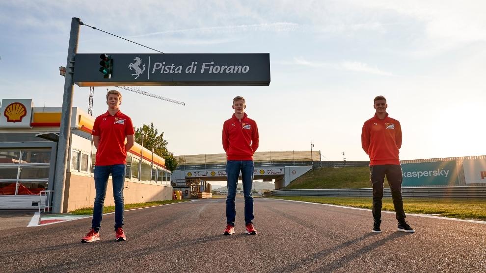 Mick Schumacher ya prueba el Ferrari en Fiorano
