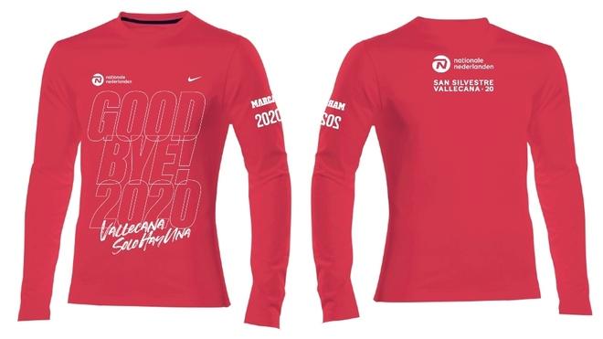 La camiseta de la edición 2020: 'Good bye, 2020'