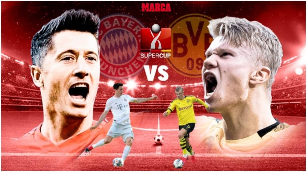 Borussia Dortmund-Bayern Munich: Resumen, resultado y goles