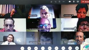 Videoconferencia organizada por Aficiones Unidas