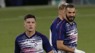 Alineaciones probables del Real Madrid - Valladolid: Jovic y Benzema,...