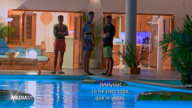 Melyssa y Tom, Melodie y Cristian, Marta y Lester, Mayka y Pablo e...