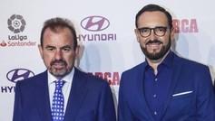 Ángel Torres y Bordalás, en la gala de los Premios MARCA.