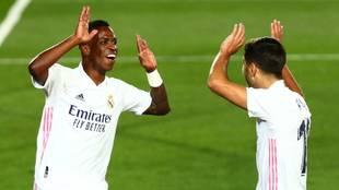 Real Madrid 1-0 Valladolid: gol de Vinícius en LaLiga