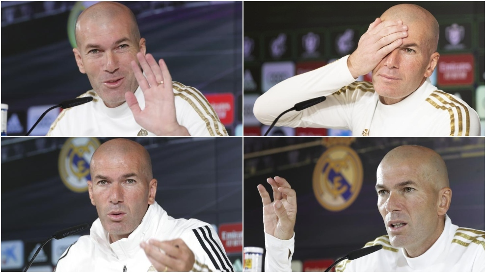 Zidane is keeping everyone guessing with his tactics and surprising starters