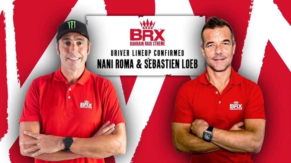 Nani Roma y Sébastien Loeb, pilotos de Prodrive para el Dakar 2021