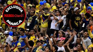 aficion mexicana en los estadios