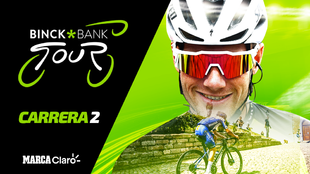 Binckbank Tour 2020: Carrera 2, en vivo