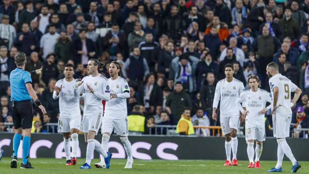 El Madrid-City, último partido de Champions con público en el...