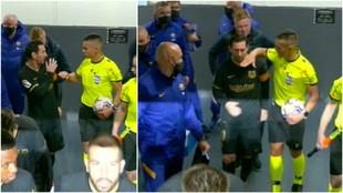 Messi, Piqué y Koeman pidieron explicaciones a Del Cerro Grande por la roja a Lenglet