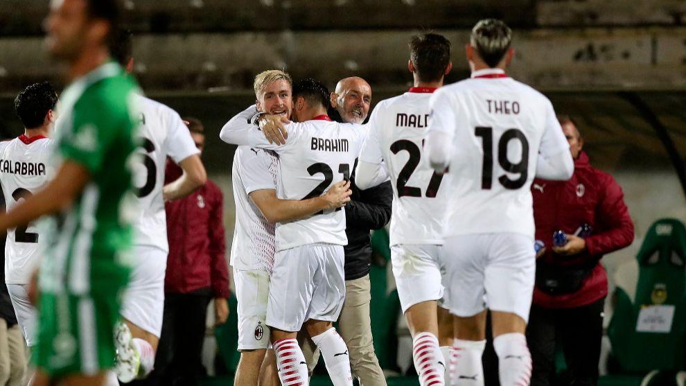 El Milan se clasifica para la Europa League tras una tanda de penaltis interminable