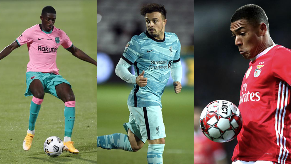 Friday's transfer round-up: The latest on Dembele, Vinicius, Shaqiri, Smalling and Torreira